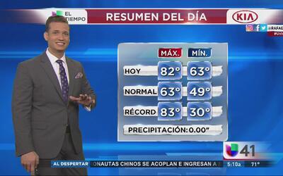 Nueva York tendrá un miércoles caluroso