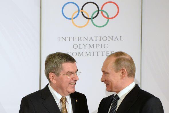 """Putin asegura que """"Rusia está preparada para los Juegos"""" y precisa que """"..."""