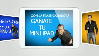 ¡Gánate una Mini iPad!