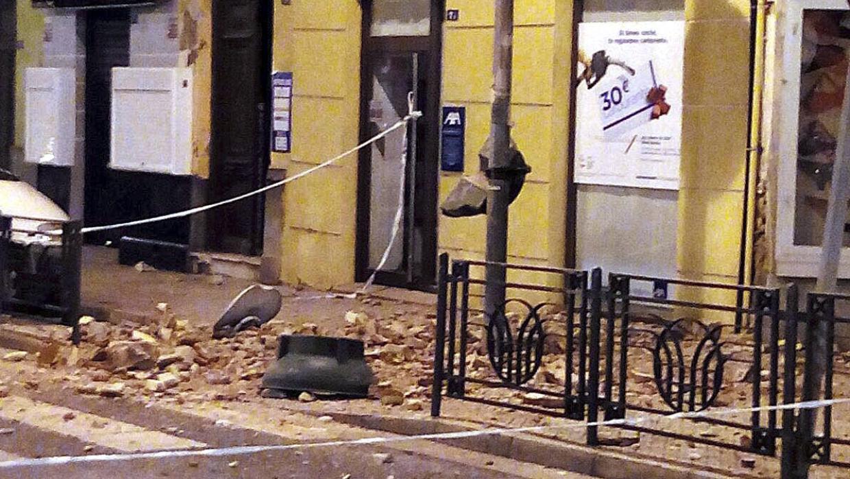 Daños menores en Melilla, España, tras fuerte terremoto