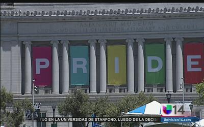 Máxima seguridad en el desfile gay de San Francisco