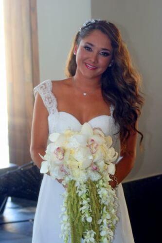 Llegó el gran día para Sherlyn, el día de su boda por el civil con el po...