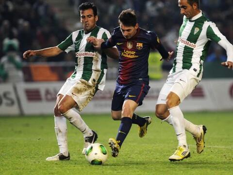 Barcelona no se guardó nada en la ida de los octavos de final de...