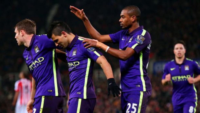 El Manchester City lució en su visita al Stoke logrando otra goleada.