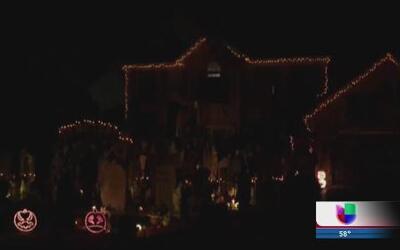 Menos decoraciones de Halloween en Naperville