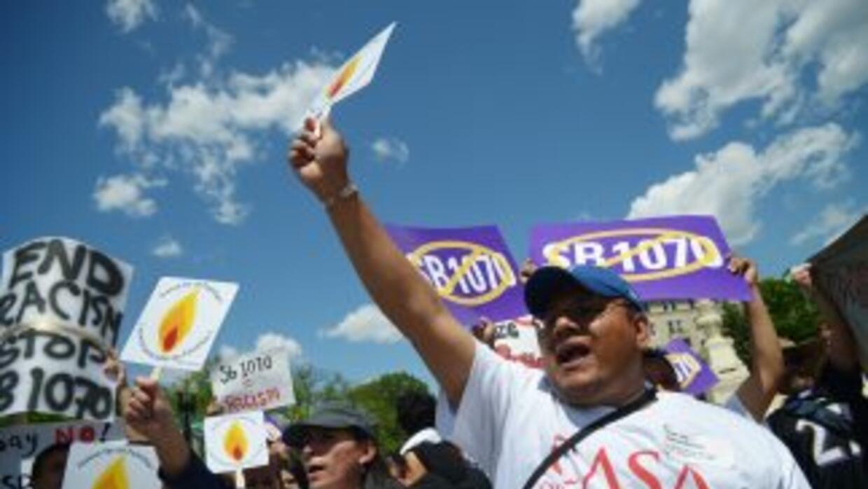 La Sección 6 de la ley SB1070 de Arizona era la más polémica de todas y...