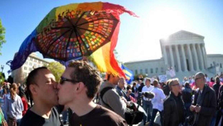 Matrimonio gay.