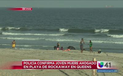 Joven muere ahogado en una playa de Queens