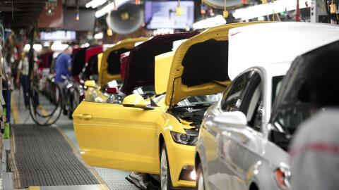 Planta de la empresa automotriz Ford en Michigan.