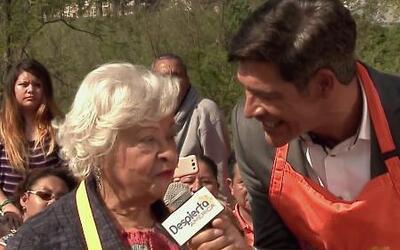La madre y abuelita de Zoe Saldaña cocinaron en Despierta América