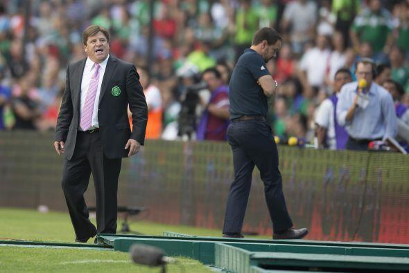 5.- Cabeza fría vs. CONCACAF.- El 'Piojo' estuvo enojado todo el partido...