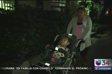 Milagro de Acción de Gracias para niña