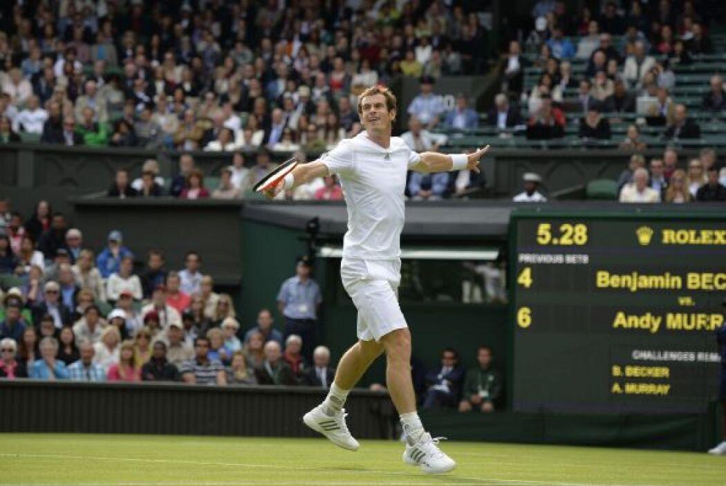 El reto de Murray es suceder a Perry como ganador de Wimbledon, que no v...