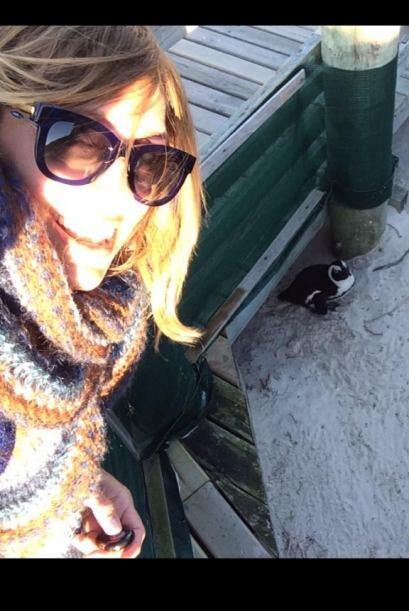 Y aunque hace un poco de frío, también sale el sol.