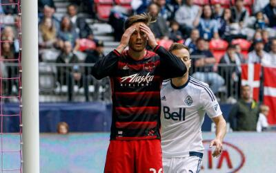 Lucas Melano se lamenta con Portland Timbers