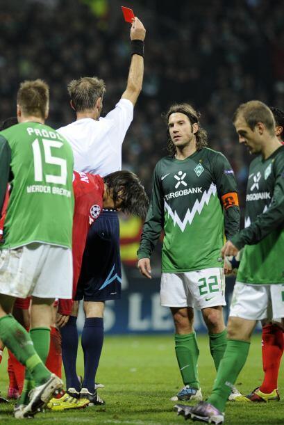 Otro club que dio un peor papel fue el Werder Bremen, último pues...