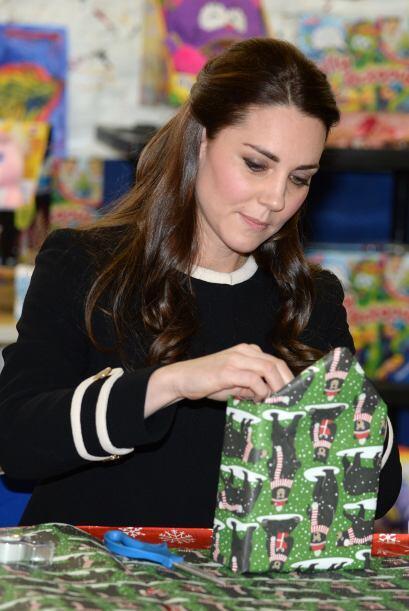 Sin duda, Kate, que espera su segundo bebé, poseé gran pac...