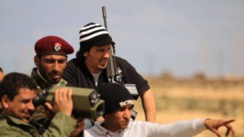 La operación militar desarrollada en Libia por una coalición internacion...