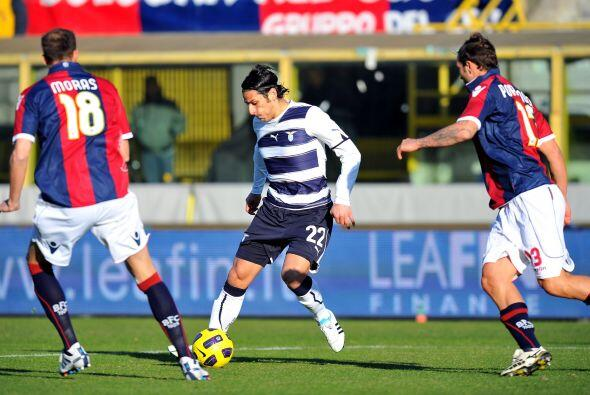 Lazio, otro equipo que pelea por el título de la Serie A, visit&o...
