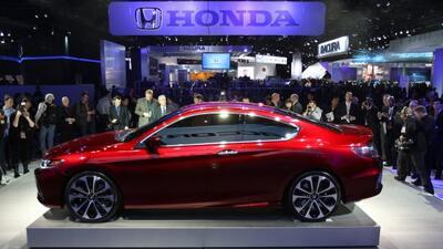 La nueva generación del Honda Accord debutó en el Autoshow de Detroit.