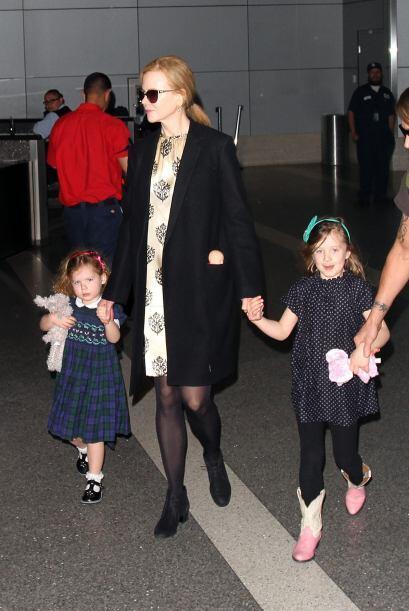 Sunday Rose y Faith Margaret cada vez se parecen más a su madre Nicole K...