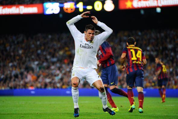 Cristiano Ronaldo protestó enérgicamente.