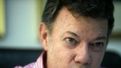 Juan Manuel Santos minimizó criticas del presidente venezolano, Hugo Chá...