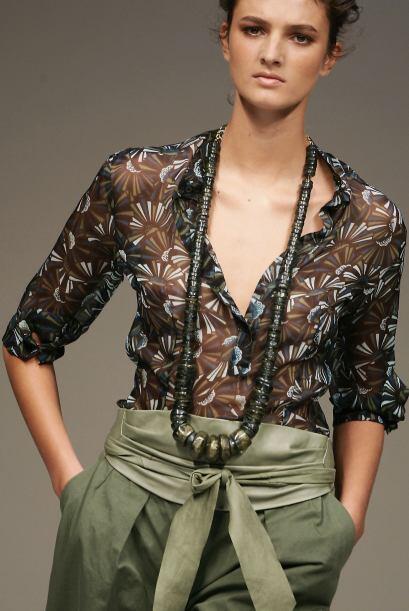 Blusas con estampado: Lograrás un efecto visual más grande...