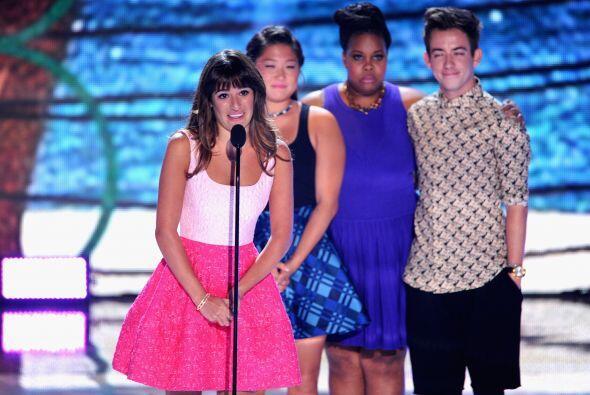 """El elenco de """"Glee"""". Mira aquí lo último en chismes."""