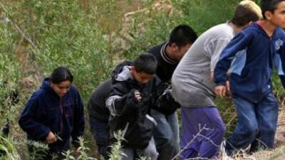 Menores migran a EEUU.