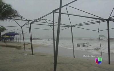 La tormenta tropical Polo sigue generando lluvias en México