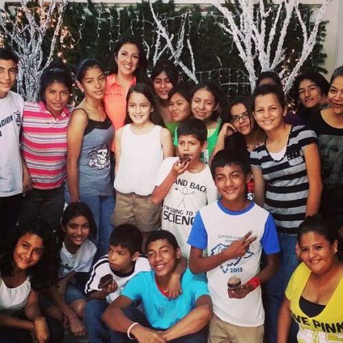 """""""Feliz de haber compartido con los jovenes de la Fundación Amor y Vida"""",..."""