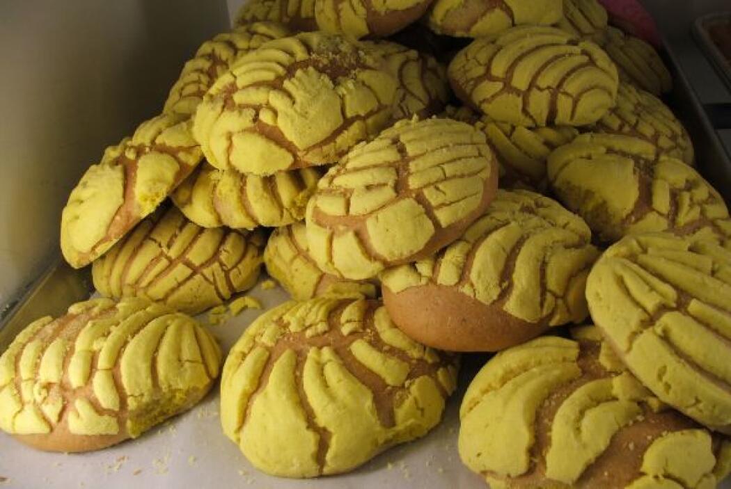 Aquí tenemos las típicas conchas de vainilla, chocolate o blancas.