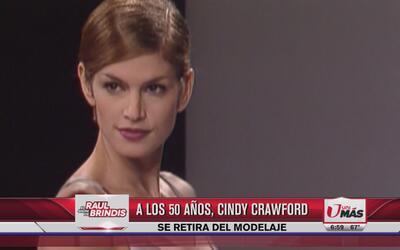 Cindy Crawford se retira del modelaje a los 50 años