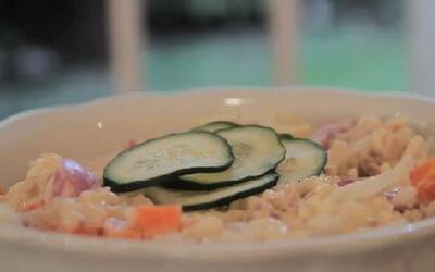 Cómo preparar una ensalada 'Marina'