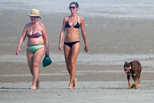 Gisele estuvo recientemente en Los Ángeles, disfrutando del calur...