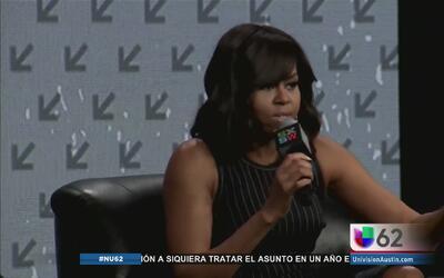 Michelle Obama habló sobre la educación de las niñas en SXSW