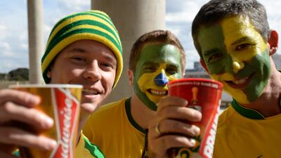 La cerveza vuelve al fútbol brasileño