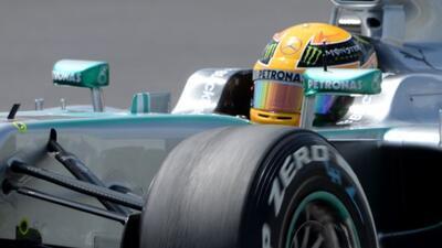 Lewis Hamilton arrancará en el primer puesto en el Nürburgring.