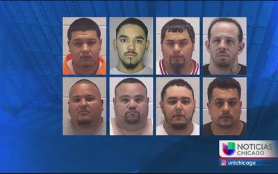 Detienen a 16 presuntos miembros de la pandilla Latin King en Aurora