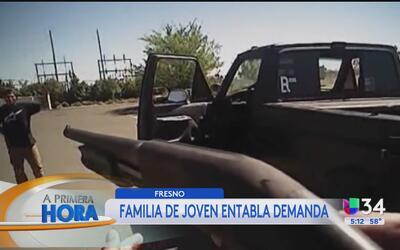 Una familia de Fresno entablará una demanda contra la policía por la mue...