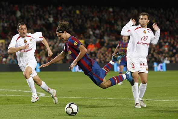 Ibrahimovic cayó dentro del área y el árbitro pitó penalti.
