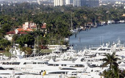 El Miami International Boat Show es un evento más grande que dos Super B...