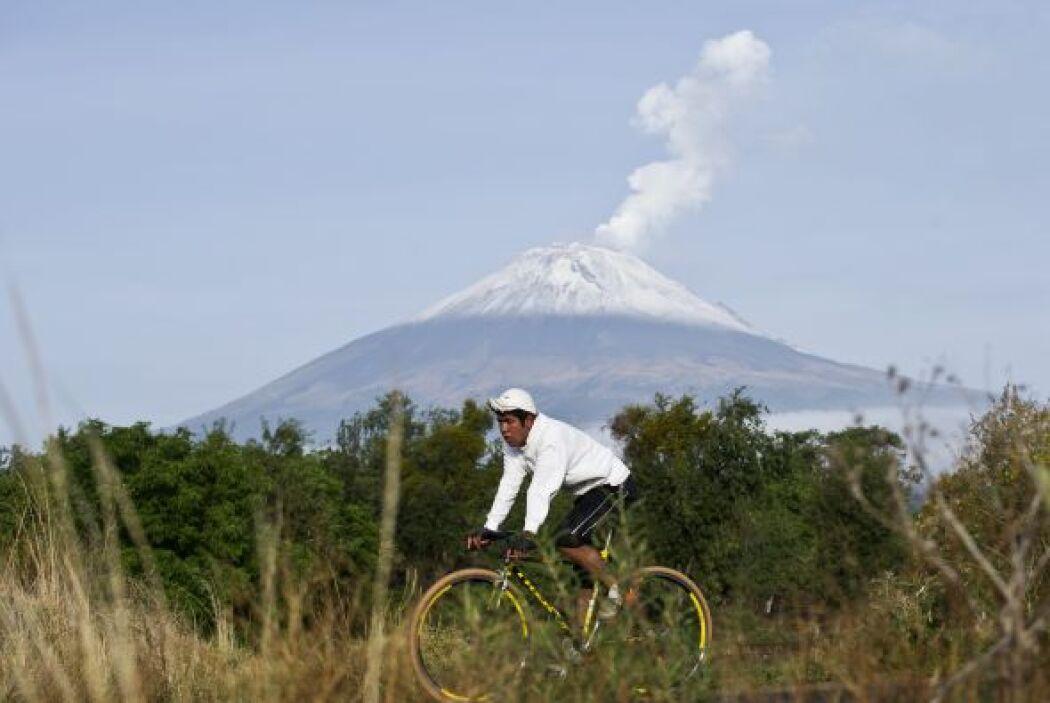 A tan sólo 7 millas del famoso Popo, uno de los volcanes más activos de...