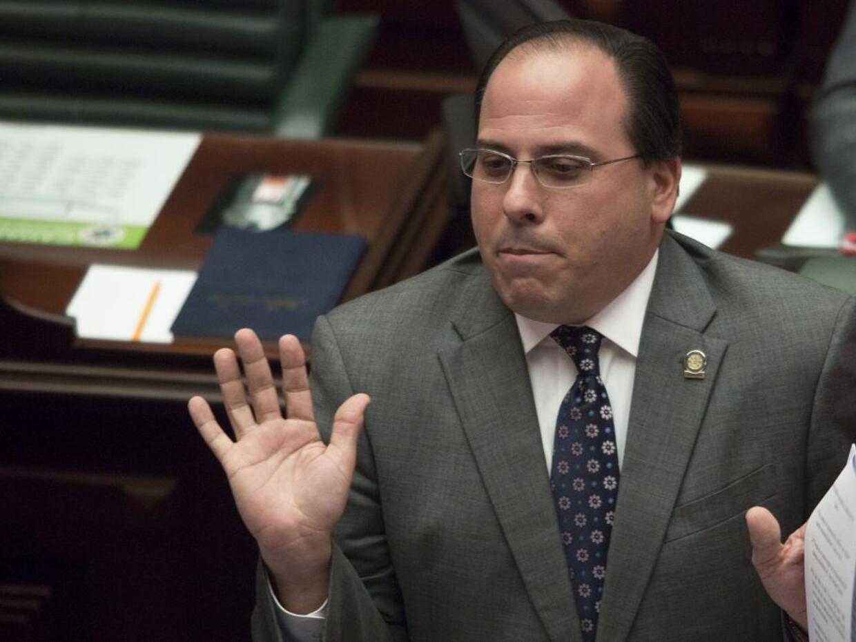 Jaime Perelló, presidente de la Cámara de Representantes d...