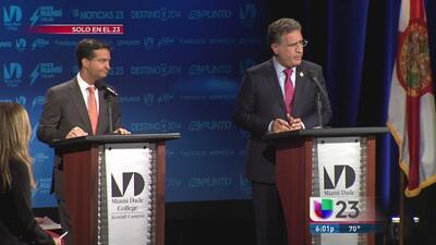 Candente debate entre García y Curbelo