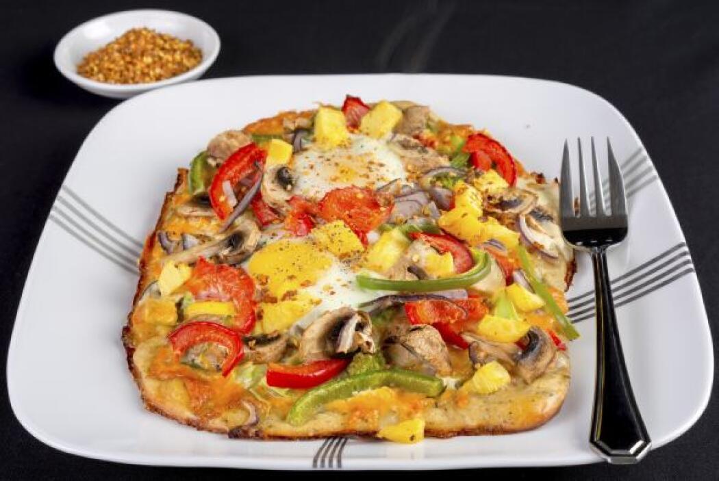 Otra variante de la pizza 'hawaiana'
