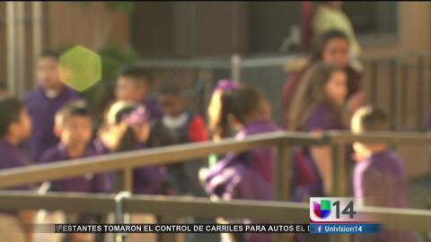 Escuela de Concord con mayoría de alumnos hispanos y afroamericanos pres...