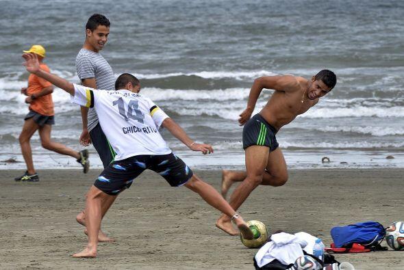 Pero aquí lo que importa es el soccer, así que disfrutaron...