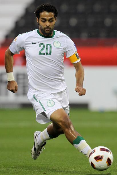 Yasser Al-Qahtani fue tercero. Juega en el equipo Al Ain y es delantero.